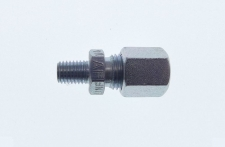 Straight compression fitting - UNF